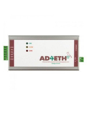 AD4ETH - Ethernet measurement module