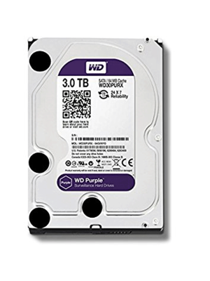 Hd 3TB WD SATA3 64MB PURPLE