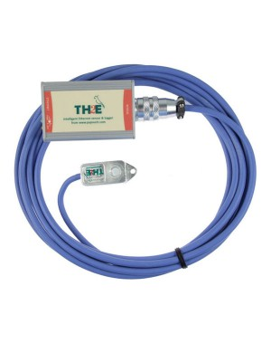 TH2E_LOG - IP Thermometer - Hygrometer & Logger