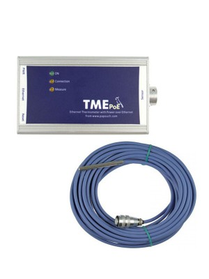 TME POE - Thermometer Ethernet-10m sens
