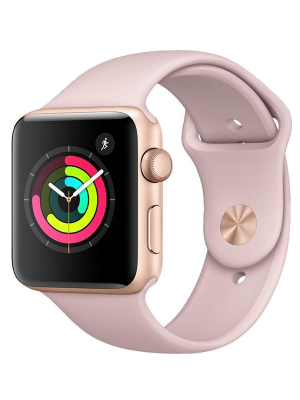 Apple Watch Series 3 Aluminium 42mm Pink Sport Band