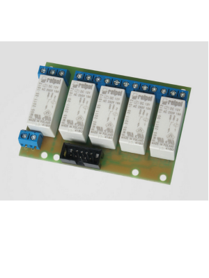 Relays board 16A x 5 to Controler GSM