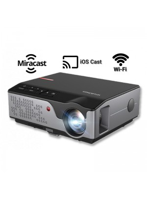 Conceptum Led Projector RD-826 with WiFi - 4000 Led Lumens - Miracast - iOS Cast Mirroring