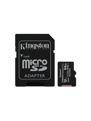 Micro SD - KINGSTON TECHNOLOGY CANVAS SELECT PLUS 64GB SDCS2/64GB
